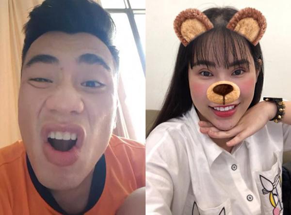 Hé lộ bạn gái xinh như hot girl của Tiến Dụng U23 Việt Nam-4