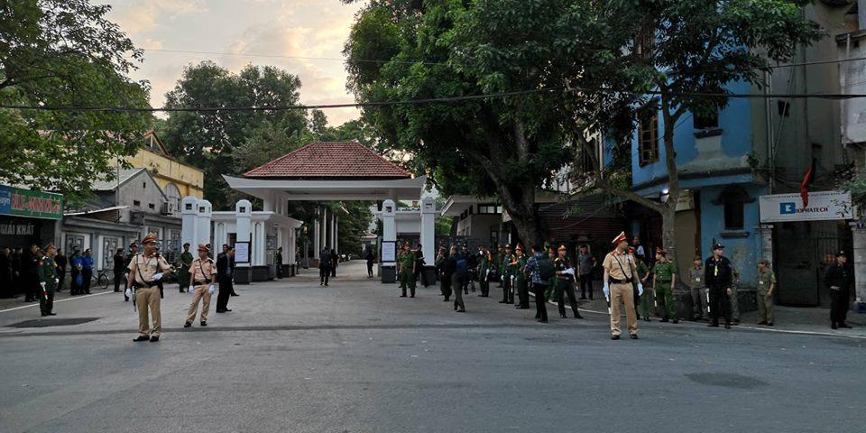 Đảm bảo an ninh, an toàn đưa di hài Chủ tịch nước về Ninh Bình-3