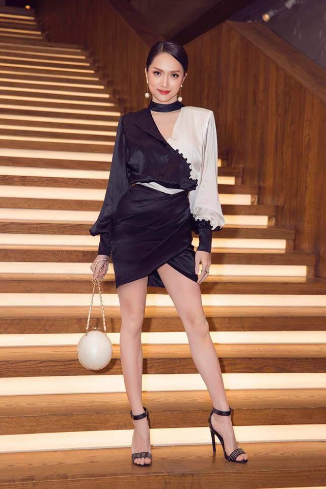 Hoa hậu Hương Giang oán hận vì xách túi hàng hiệu mà ai cũng bảo...xách lựu đạn-1