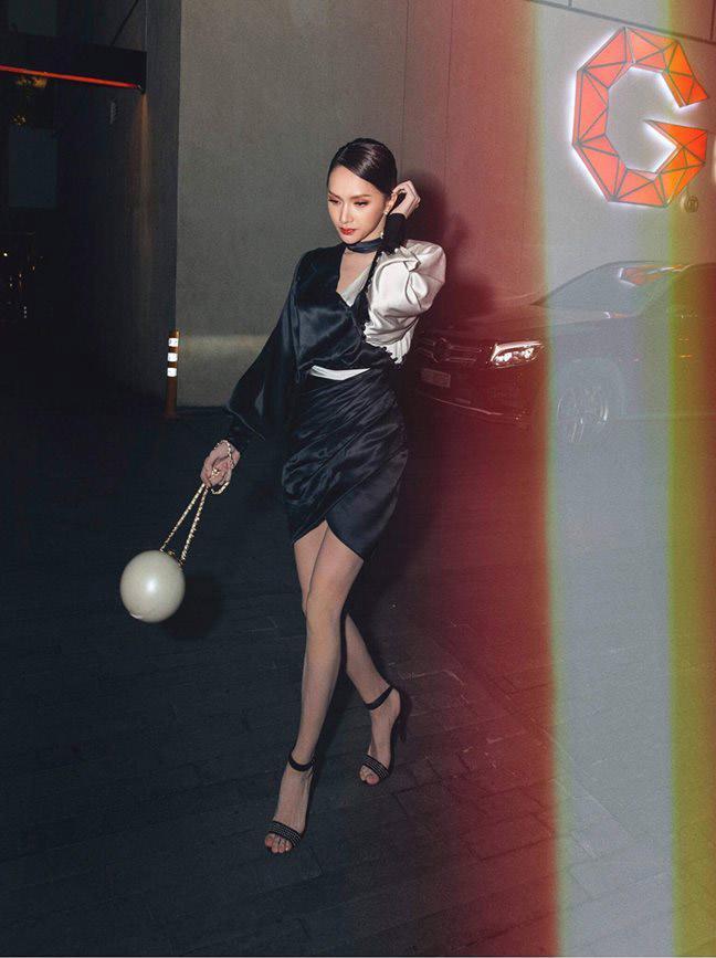 Hoa hậu Hương Giang oán hận vì xách túi hàng hiệu mà ai cũng bảo...xách lựu đạn-6