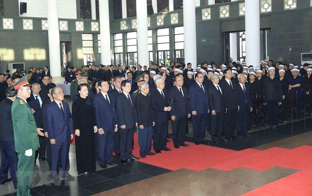 Di quan Chủ tịch nước Trần Đại Quang về với đất mẹ-59