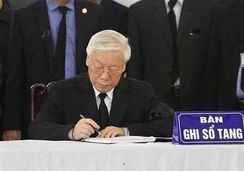 Di quan Chủ tịch nước Trần Đại Quang về với đất mẹ-40