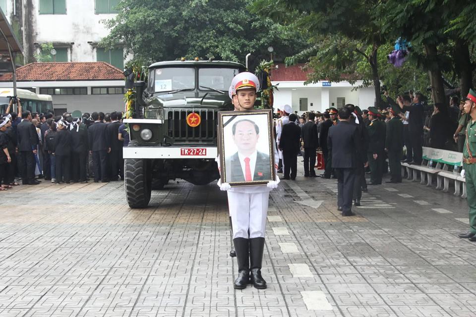 Di quan Chủ tịch nước Trần Đại Quang về với đất mẹ-24