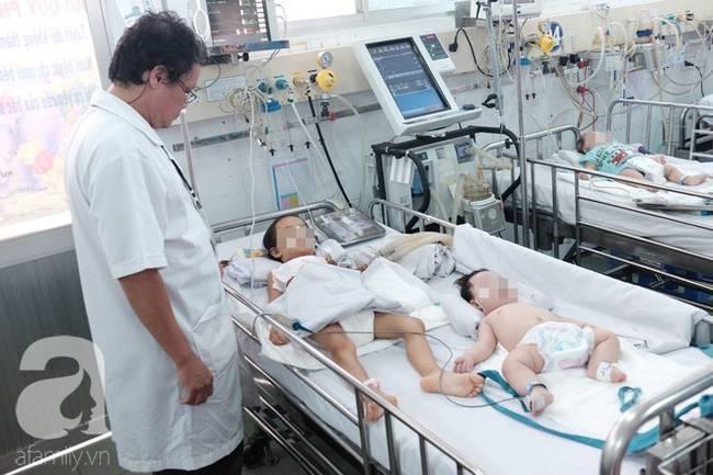 Phụ huynh rối bời vì trẻ bị tay chân miệng ở TP.HCM tăng gấp 5 lần-6