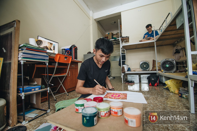 Khám phá ký túc xá của ngôi trường có kiến trúc đẹp nhất nhì Việt Nam, nơi sinh viên ăn-ngủ-sinh hoạt cùng bảng màu, giá vẽ-6