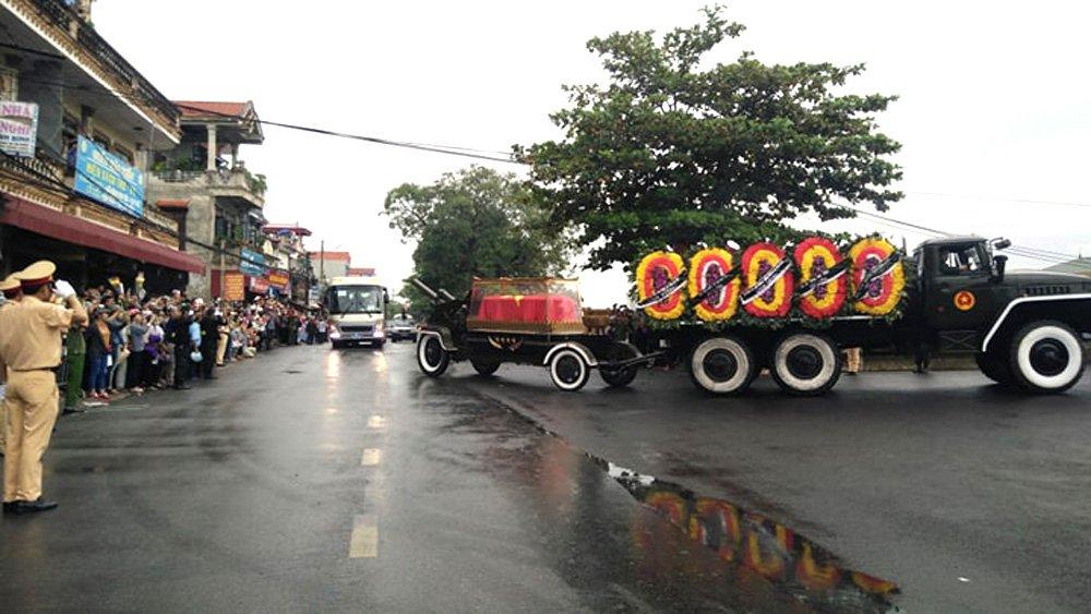 Lễ an táng Chủ tịch nước Trần Đại Quang tại quê nhà-45