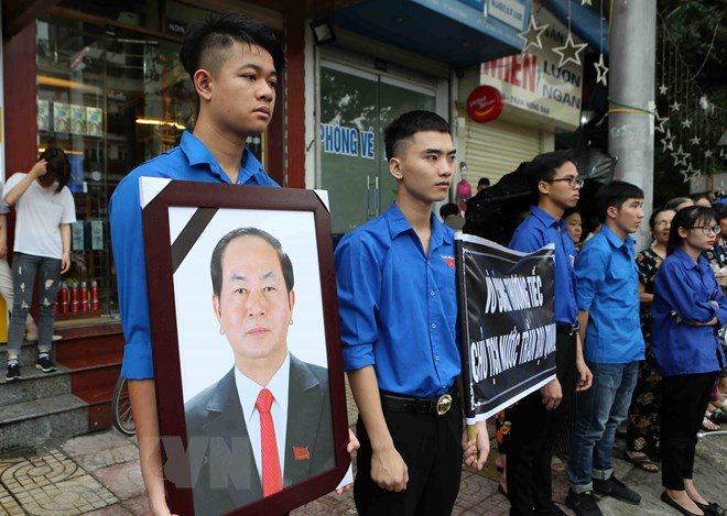 Lễ an táng Chủ tịch nước Trần Đại Quang tại quê nhà-38