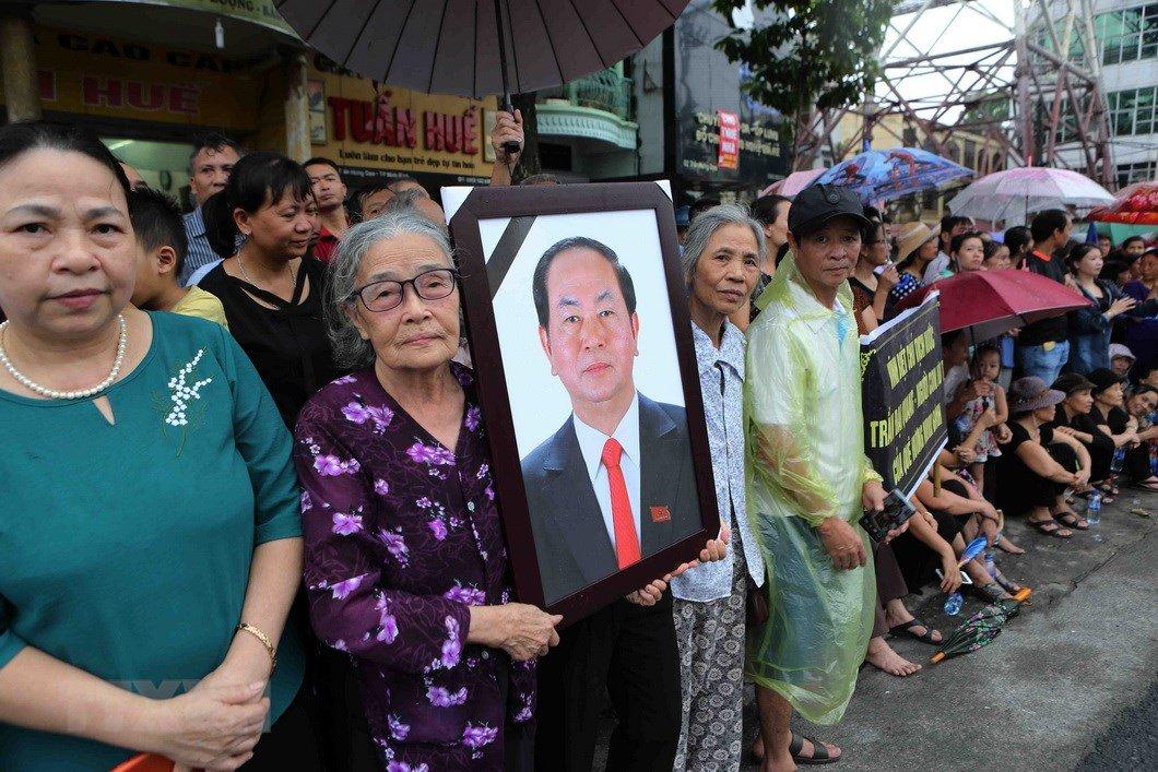 Lễ an táng Chủ tịch nước Trần Đại Quang tại quê nhà-39