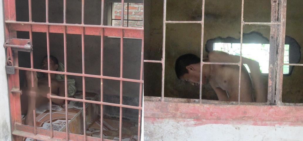 Xót lòng cảnh mẹ già phải xây chuồng nhốt... 3 đứa con tâm thần-2