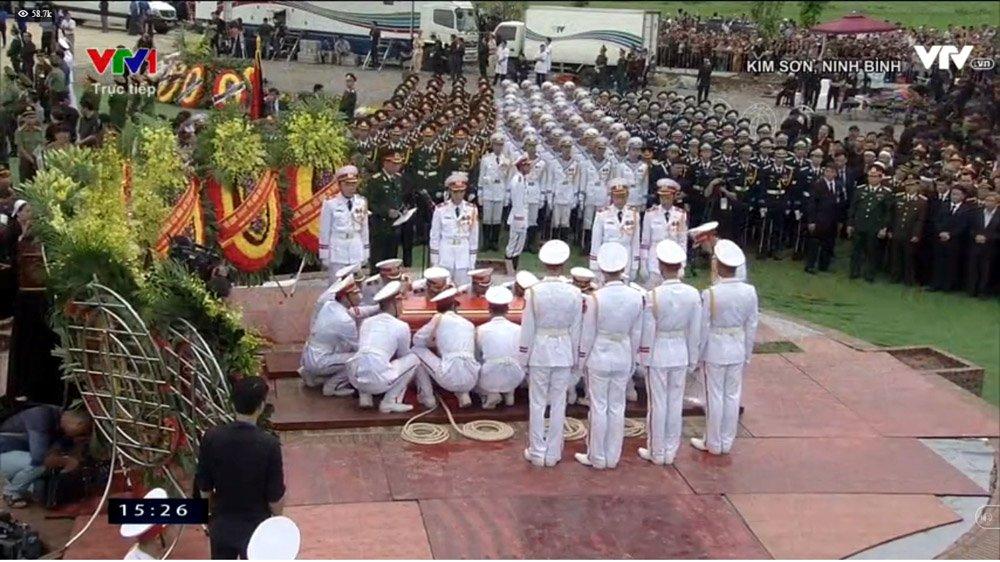 Lễ an táng Chủ tịch nước Trần Đại Quang tại quê nhà-19