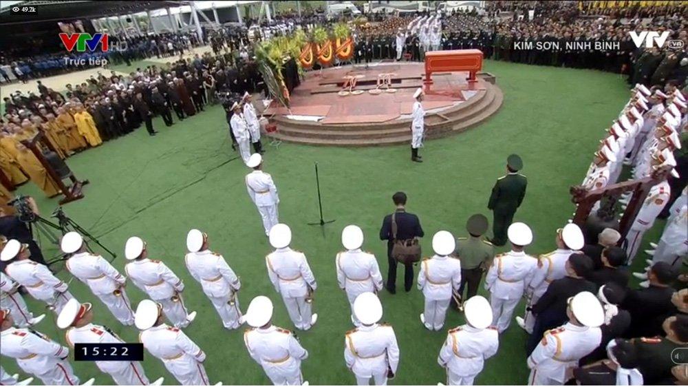 Lễ an táng Chủ tịch nước Trần Đại Quang tại quê nhà-17