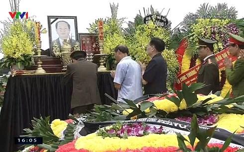 Lễ an táng Chủ tịch nước Trần Đại Quang tại quê nhà-1