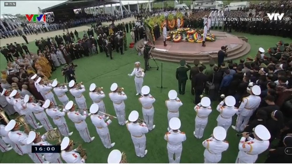 Lễ an táng Chủ tịch nước Trần Đại Quang tại quê nhà-5