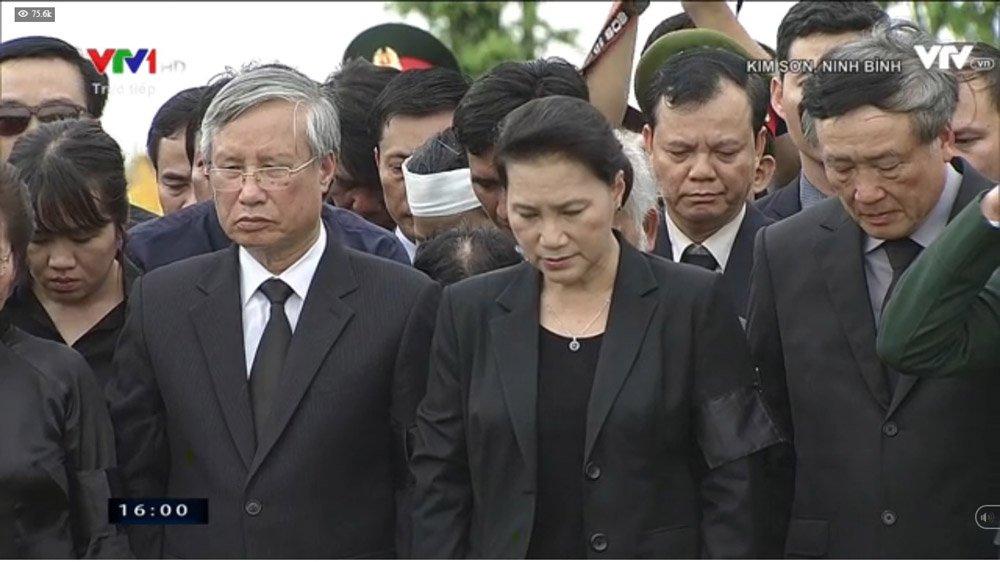 Lễ an táng Chủ tịch nước Trần Đại Quang tại quê nhà-6