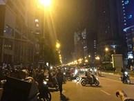 Hà Nội: Thanh sắt rơi từ trên tòa chung cư đang hoàn thiện xuống đường đúng giờ tan tầm, 1 cô gái trẻ tử vong