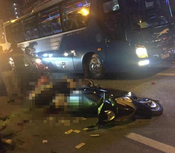 Hà Nội: Thanh sắt rơi từ trên tòa chung cư đang hoàn thiện xuống đường đúng giờ tan tầm, 1 cô gái trẻ tử vong-1