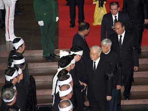 Gia đình Chủ tịch nước cảm ơn sau lễ Quốc tang-1