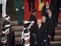 Gia đình Chủ tịch nước cảm ơn sau lễ Quốc tang