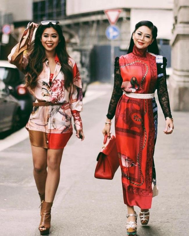 Lâu lâu mới xuất hiện, mẹ chồng Tăng Thanh Hà được khen là trẻ đẹp không thua con gái là mấy-1