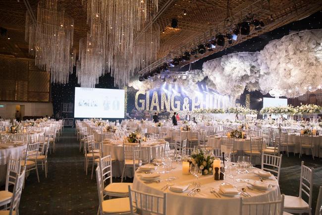 Cùng chiêm ngưỡng lại không gian tiệc cưới lộng lẫy, xa hoa như cổ tích trong đám cưới Trường Giang - Nhã Phương-4