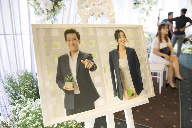Cùng chiêm ngưỡng lại không gian tiệc cưới lộng lẫy, xa hoa như cổ tích trong đám cưới Trường Giang - Nhã Phương-11
