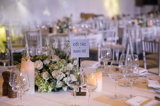 Cùng chiêm ngưỡng lại không gian tiệc cưới lộng lẫy, xa hoa như cổ tích trong đám cưới Trường Giang - Nhã Phương-9