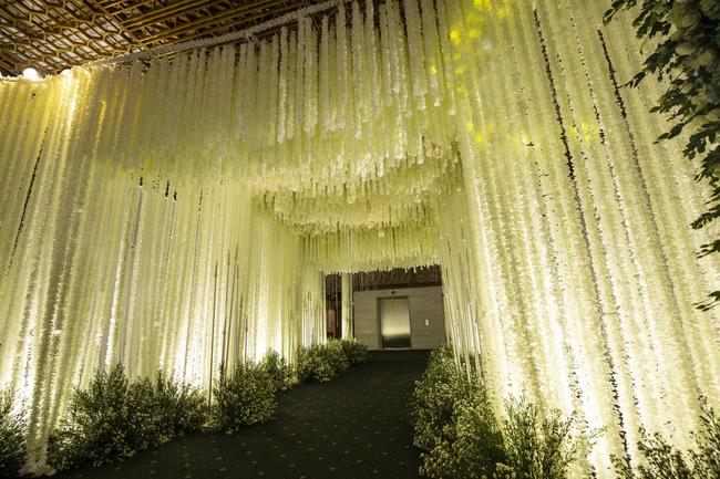 Cùng chiêm ngưỡng lại không gian tiệc cưới lộng lẫy, xa hoa như cổ tích trong đám cưới Trường Giang - Nhã Phương-13