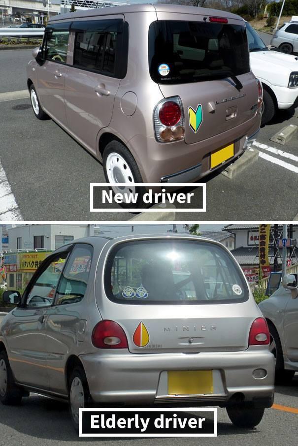 Đây là cách người Nhật báo hiệu mới lái xe, không chỉ là văn hóa mà được quy định thành luật-4