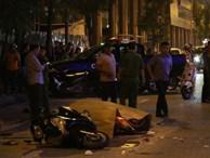 Toàn cảnh: Một người đi đường tử vong do thanh sắt rơi trúng đầu ở Hà Nội