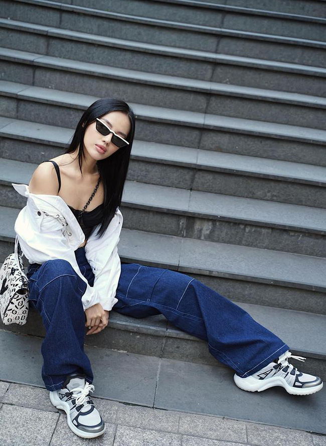 Thu mới chớm mà dàn sao và hot girl Việt đã khoe 1001 kiểu street style, kiểu nào cũng dát đầy hàng hiệu!-5