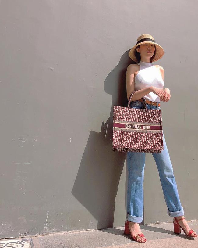Thu mới chớm mà dàn sao và hot girl Việt đã khoe 1001 kiểu street style, kiểu nào cũng dát đầy hàng hiệu!-13
