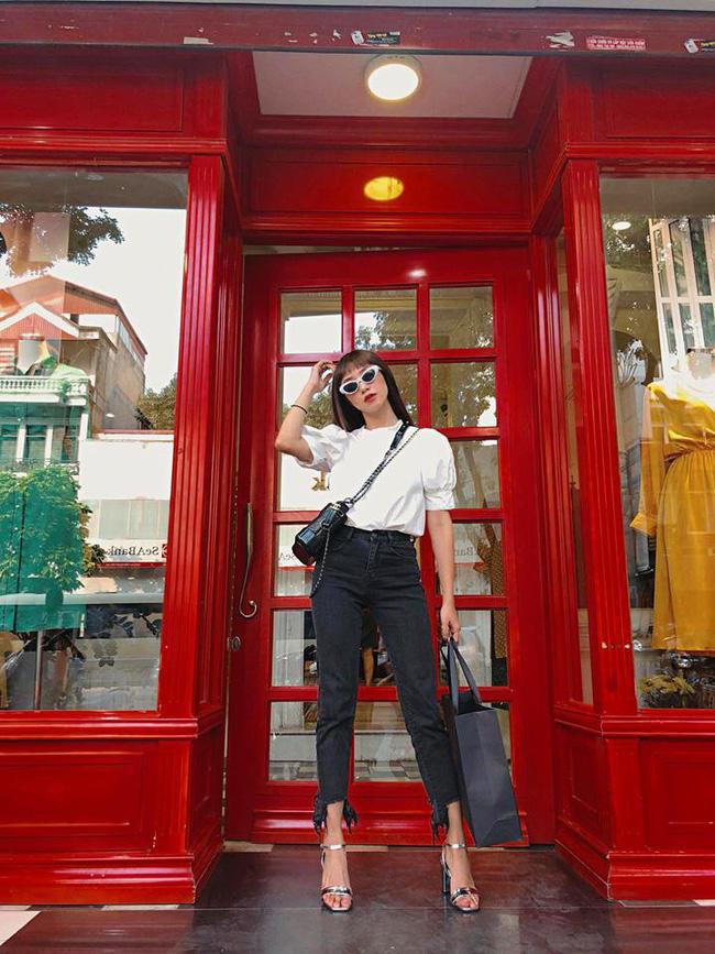 Thu mới chớm mà dàn sao và hot girl Việt đã khoe 1001 kiểu street style, kiểu nào cũng dát đầy hàng hiệu!-8