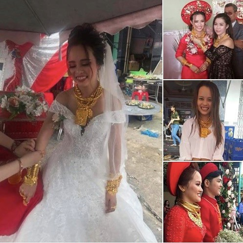 Người thân của cô dâu Hậu Giang chính thức lên tiếng về sự thật việc cháu mình được trao 129 cây vàng làm của hồi môn-1