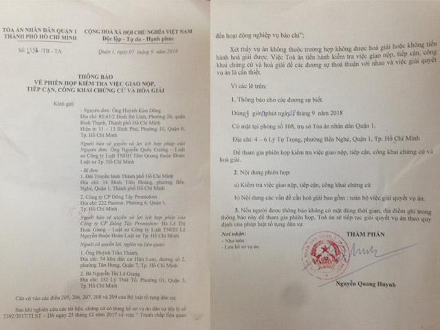 Tòa án mời Trấn Thành, Lê Giang lên hòa giải lần cuối vụ Duy Phương-1