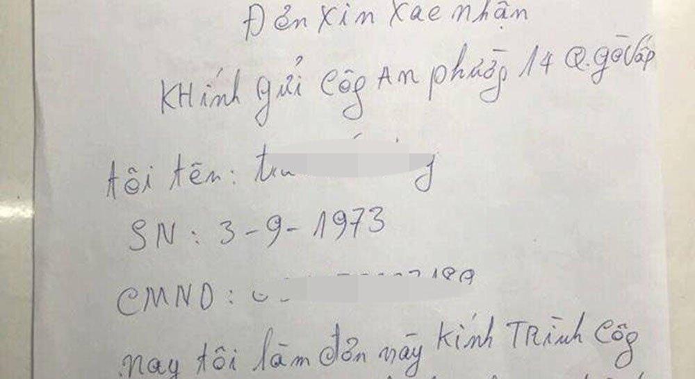 Cặp vợ chồng ở Sài Gòn trình báo bị cướp 2 tỷ đồng-1