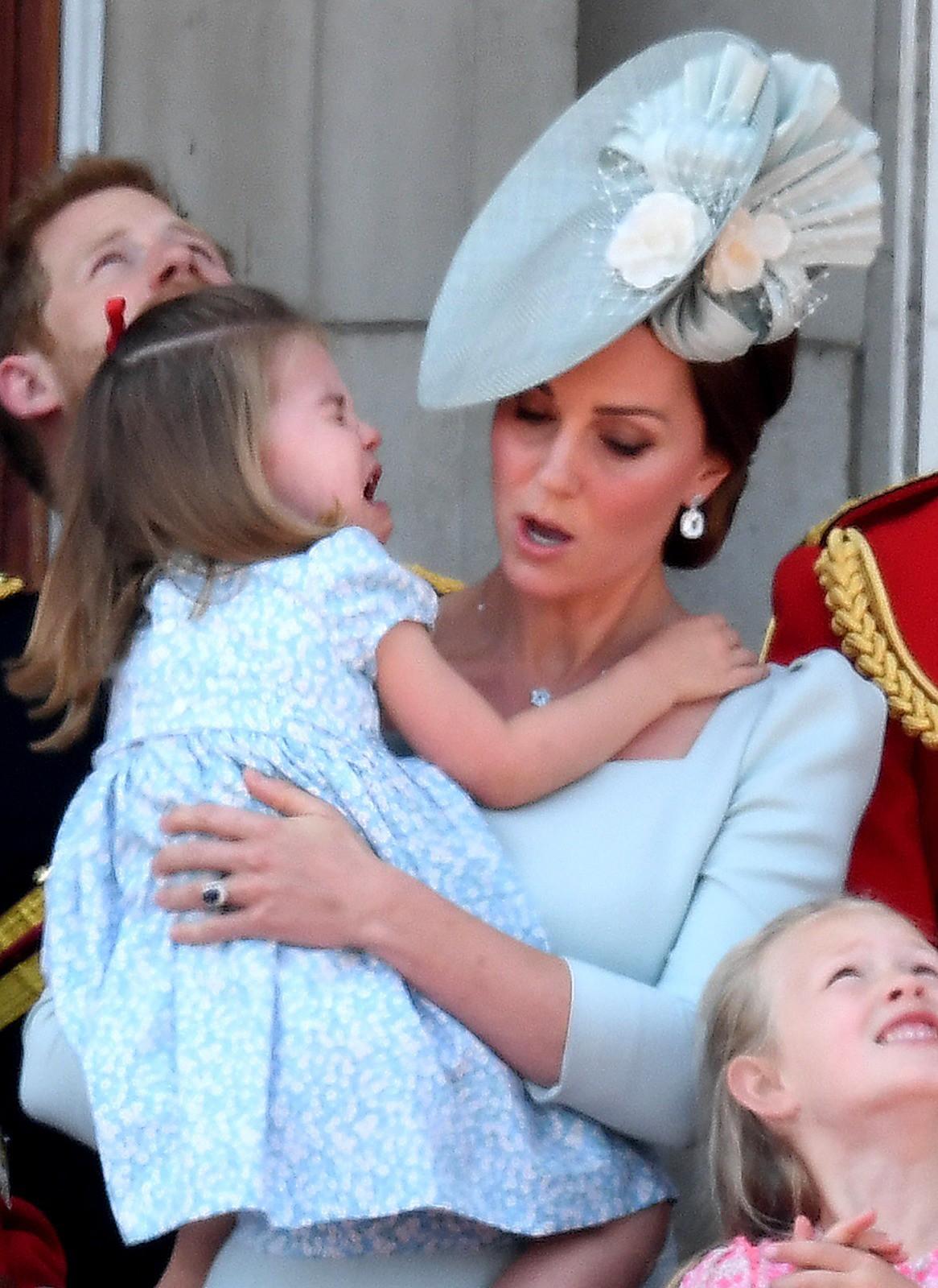 Hoàng gia Anh nghiêm túc cỡ nào cũng không thể thiếu những khoảnh khắc hài hước và hớ hênh bất đắc dĩ của các thành viên-18