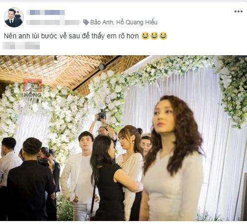 Hồ Quang Hiếu tiết lộ sốc về nguyên nhân nhìn Bảo Anh đắm đuối trong đám cưới Trường Giang-2