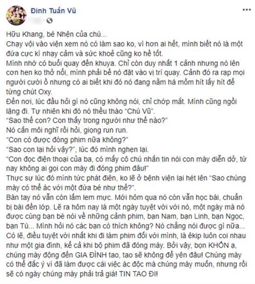 Sau scandal tình cảm Kiều Minh Tuấn - An Nguy, đạo diễn nổi điên vì sao nhí sốc nhập viện-2