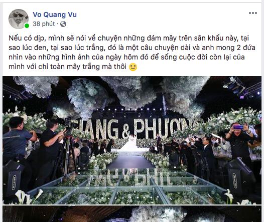 Hậu đám cưới, anh trai Trường Giang gửi lời nhắn đến em trai và em dâu đầy xúc động-1
