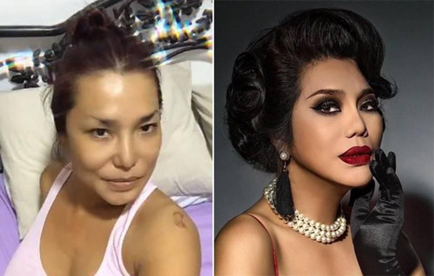 Sau khi dao kéo sao Việt nhìn ra sao nếu không photoshop, make up?-4