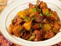 Chán nấu canh, đem sườn kho với khoai tây ngon ngất ngây, cơm