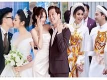 Kì lạ chưa, cả ba siêu đám cưới của showbiz Việt năm 2018 đều dính đến