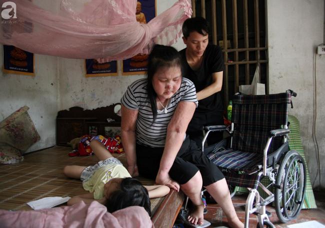 Người mẹ trẻ ung thư giai đoạn cuối ở Hà Nam: Đã rất lâu rồi gia đình em mới có tiền mua sữa cho 3 cô con gái-3
