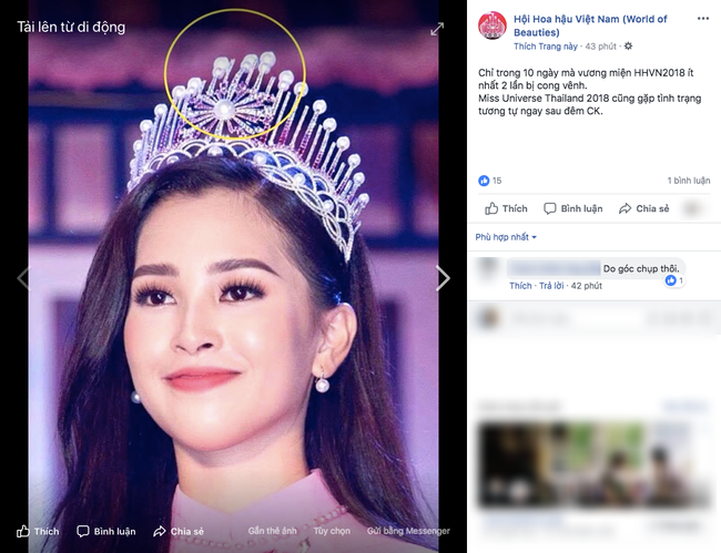 Xuất hiện với diện mạo xinh đẹp, Tân Hoa hậu Tiểu Vy vẫn bị soi đội vương miện cong vênh-1