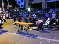Vụ khung sắt rơi chết người: Do công nhân bất cẩn?