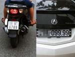 Xôn xao hình ảnh 3 chiếc xe tay ga biển ngũ quý chạy song song trên đường phố Hà Nội-2