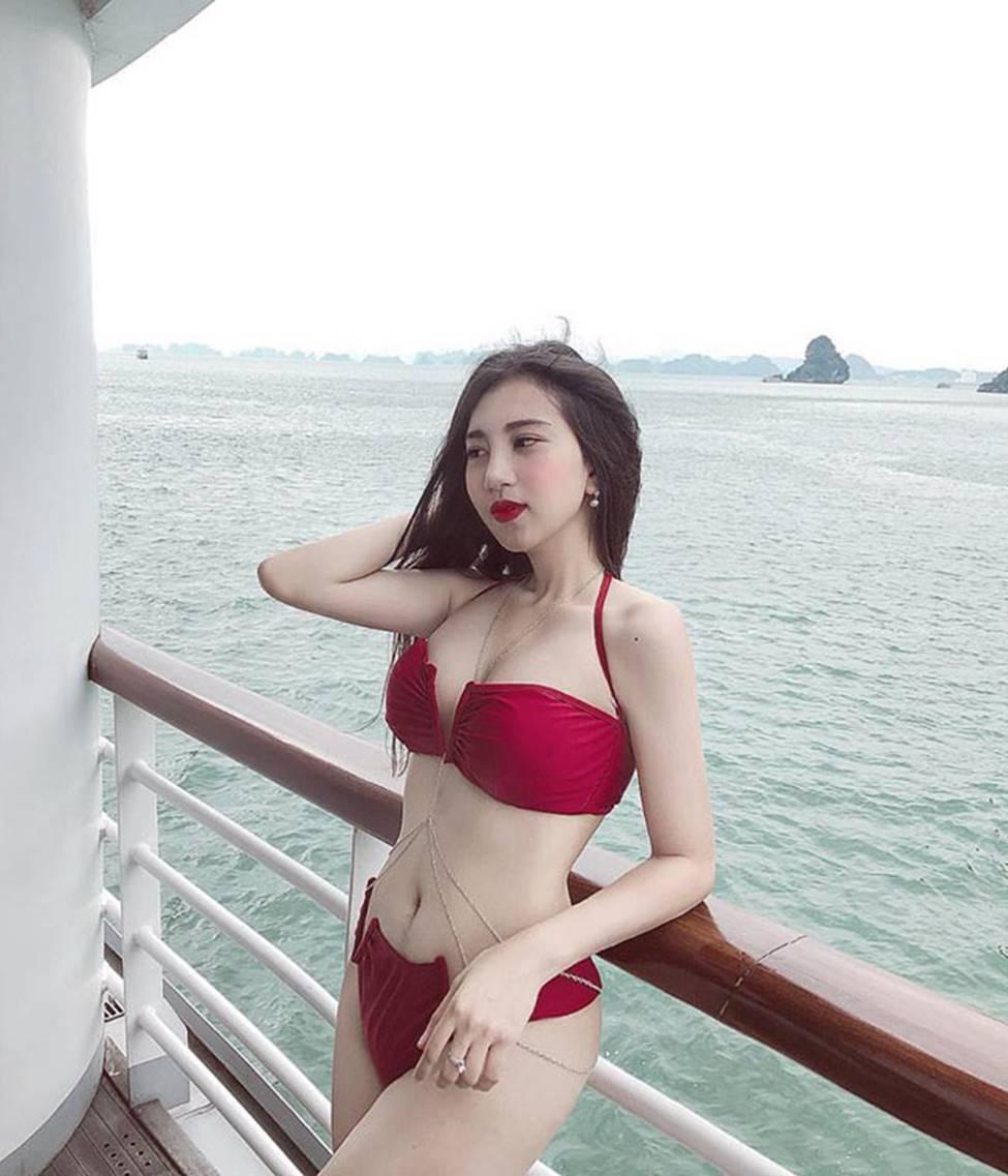 Hot girl Đà Nẵng và cô em út họ Hồ đẹp xuất sắc với bikini-11