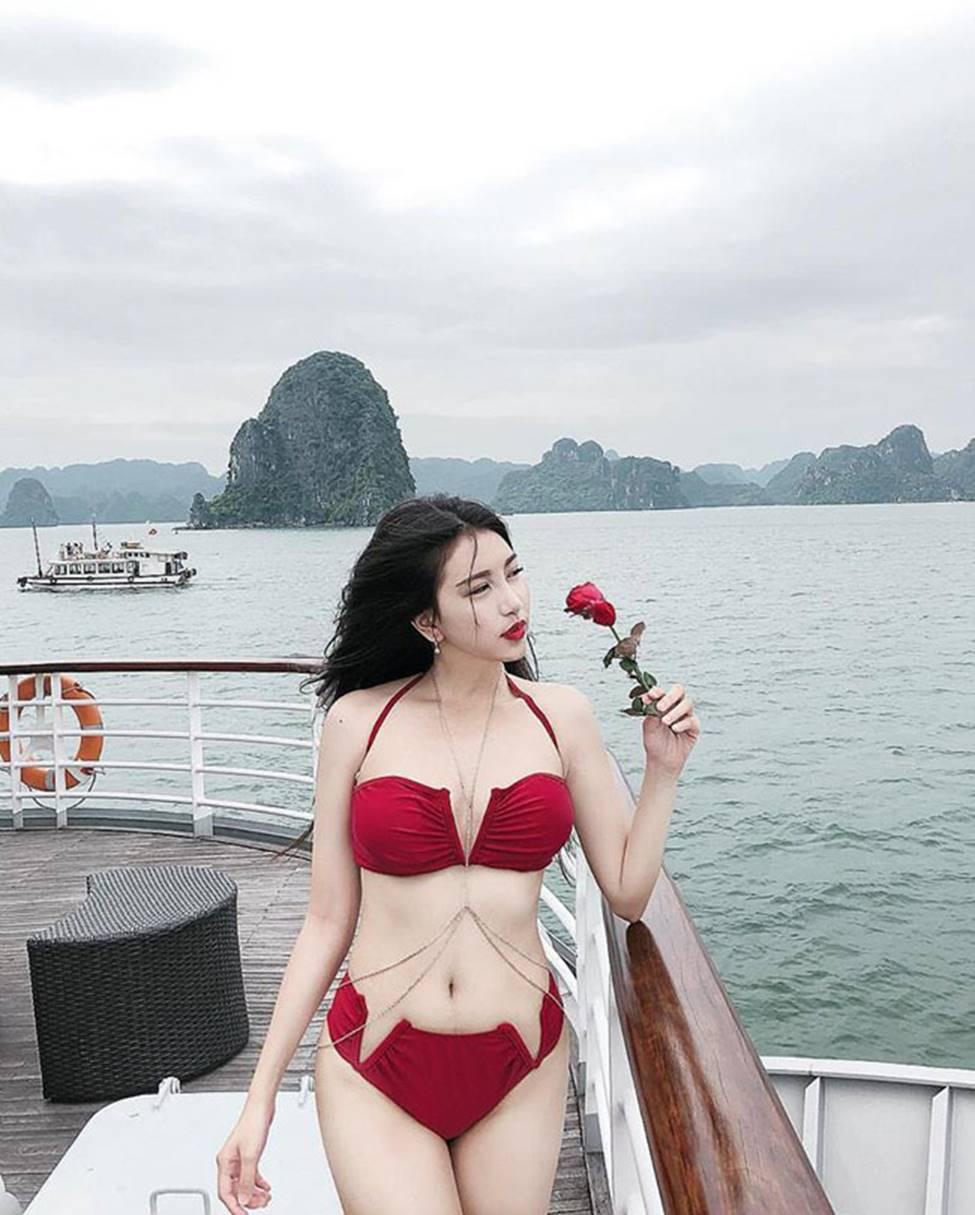 Hot girl Đà Nẵng và cô em út họ Hồ đẹp xuất sắc với bikini-12