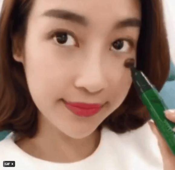 Hoa hậu Đỗ Mỹ Linh gây tranh cãi khi thoa serum dưỡng da mà chưa tẩy trang thật sạch-2