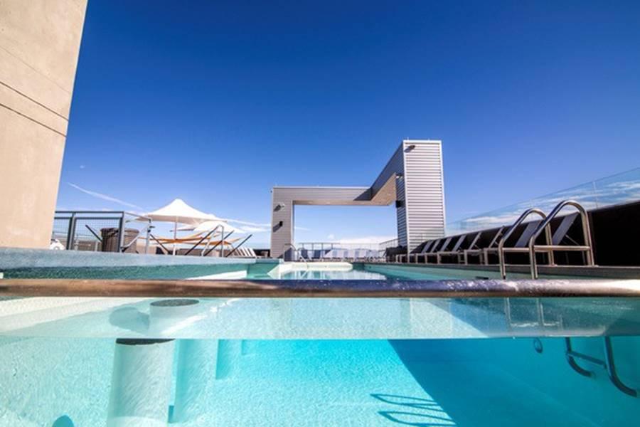 Ký túc xá nước nhà người ta: Xịn như khách sạn 5 sao, có đầy đủ sân thượng, bể bơi, giá thuê lên đến 17 triệu/tháng-4